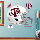 Texas A&M Aggies White Helmet Wall Decal Sticker Wallstickers