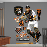 Baltimore Orioles Matt Wieters Wall Decal Sticker Wall Decal