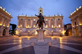 Replica of the Statue of Marcus Aurelius in the Piazza Del Campidoglio Photographic Print by Matt Propert