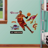 Cleveland Cavaliers Kyrie Irving - Fathead Jr. Wall Decal Sticker Wall Decal