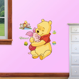 Winnie the Pooh Jr Wall Decal Sticker Kalkomania ścienna