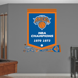 New York Knicks NBA Champions Banner Wall Decal Sticker Wall Decal