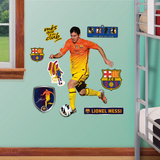 FC Barcelona Lionel Messi Junior Wall Decal Sticker Wall Decal