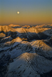 Moonrise Over the Colorado Rocky Mountains Near the Continental Divide Photographic Print by David Hiser
