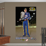 Nascar Brad Keselowski 2012 Sprint Cup Champ Mural Decal Sticker Wall Mural