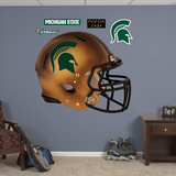 Michigan State Spartans Pro Combat Helmet Wall Decal Sticker Wall Decal