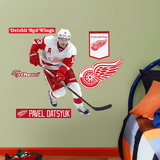 Detroit Red Wings Pavel Datsyuk - Fathead Jr. Wall Decal Sticker Väggdekal