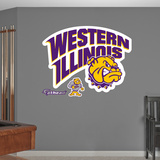 NCAA Western Illinois Leathernecks Logo Wall Decal Sticker Wall Decal
