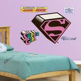 Supergirl Logo - Fathead Jr. Wall Decal Sticker Wall Decal