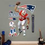 NFL New England Patriots Rob Gronkowski Wall Decal Sticker Wall Decal