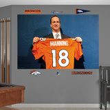 NFL Denver Broncos Peyton Manning - Broncos Jersey Mural Decal Sticker Wall Decal