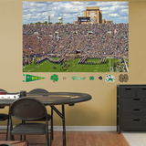 NCAA Notre Dame Fighting Irish Stadium Entrance Mural Decal Sticker Veggoverføringsbilde
