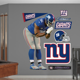 NFL New York Giants Justin Tuck Wall Decal Sticker Wall Decal