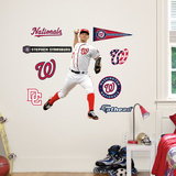 Washington Nationals Stephen Strausburg 2012 Jr Wall Decal Sticker Wall Decal