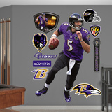 NFL Baltimore Ravens Joe Flacco - Quarterback Wall Decal Sticker Wall Decal