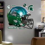 NCAA Michigan State 2012 Chrome Helmet Wall Decal Sticker Wallstickers