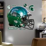 NCAA Michigan State 2012 Chrome Helmet Wall Decal Sticker Wall Decal