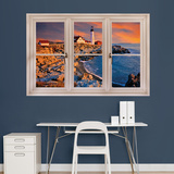 Portland, Maine Lighthouse Instant Window Wall Decal Sticker - Duvar Çıkartması