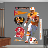 NFL Tampa Bay Buccaneers Doug Martin - Throwback Wall Decal Sticker Wall Decal