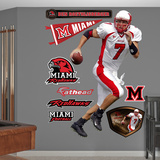 NCAA/NFLPA Miami Redhawks Ben Roethlisberger Wall Decal Sticker Wall Decal