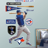 Toronto Blue Jays Brett Lawrie Wall Decal Sticker Wall Decal