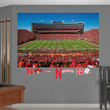 Nebraska Cornhuskers Stadium Mural Decal Sticker Wall Decal