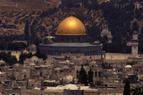 Dome of the Rock in Jerusalem Photographic Print by Lori Epstein