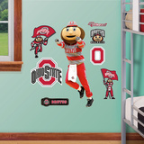 NCAA Ohio State Mascot Junior Wall Decal Sticker Mode (wallstickers)