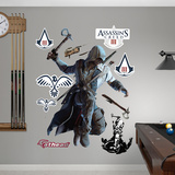 Connor Leaping: Assassin's Creed III Wall Decal Sticker Muursticker