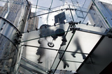 The Glass Apple Store On Fifth Avenue in New York City Photographic Print by Ira Block