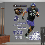 NCAA/NFLPA TCU Horned Frogs Tank Carder Wall Decal Sticker Wall Decal
