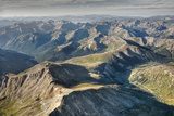 Aerial View Looking South to 12,090' Independence Pass and State Highway 82 Photographic Print by David Hiser