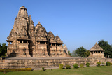 Vishvanath Temple At Khajuraho, Dedicated to Shiva Photographic Print by Martin Gray
