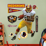 NFL Washington Redskins Alfred Morris Wall Decal Sticker Wall Decal