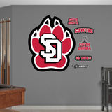 NCAA South Dakota Coyotes Logo Wall Decal Sticker Wall Decal