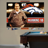NFL Denver Broncos Peyton Manning Broncos Montage Mural Decal Sticker Wall Decal