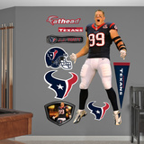 NFL Houston Texans J.J. Watt Entrance Wall Decal Sticker Wall Decal