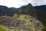 The Ruins At Machu Picchu Papier Photo par Kent Kobersteen