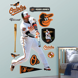 Baltimore Orioles Adam Jones 2012 Wall Decal Sticker Wall Decal