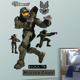 Halo - Master Chief Wall Decal Sticker Wall Decal