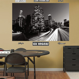 Los Angeles Skyline Mural Decal Sticker Wall Decal