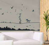 Tight Rope Wall Decal Sticker Wall Decal