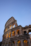 Outside Rome's Colosseum At Dusk Photographic Print by Dave Yoder