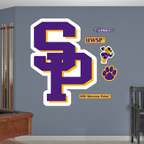 NCAA Wisconsin-Stevens Point Pointers Logo Wall Decal Sticker Wall Decal