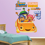 Umizoomi Car Wall Decal Sticker Wall Decal