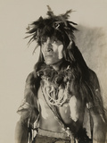 A Snake Priest in South Pasadena, California Photographic Print by P.G. Gates