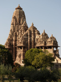 The Kandariya Mahadeva Temple in Khajuharo Photographic Print by Martin Gray