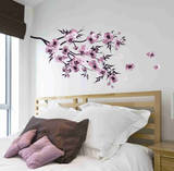 Watercolor Flowers Wall Decal Sticker Wall Decal