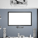 Big TV Projection Screen Wall Decal Sticker Wall Decal