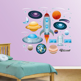 Outer Space Collection Wall Decal Sticker Wall Decal